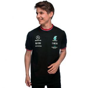 Mercedes-AMG Petronas Team Sponsor Camiseta 2021 negra
