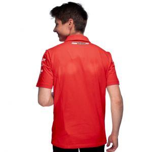 Scuderia Ferrari Men Team Polo Shirt red