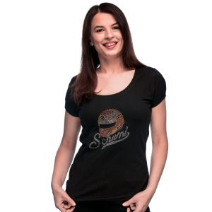 Michael Schumacher T-Shirt Femme Casque