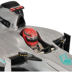 Michael Schumacher Mercedes GP F1 2010 Showcar 1/43