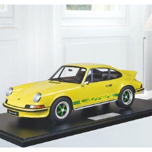 Porsche 911 Carrera RS 2.7 lightweight construction - 1972 - yellow / green decor 1/8