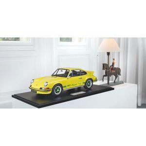 Porsche 911 Carrera RS 2.7 construction légère - 1972 - jaune / décor vert 1/8