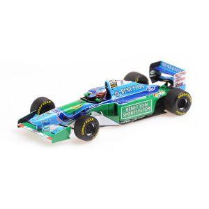 Michael Schumacher Benetton B194 #5 Ganador del GP de Francia Campeón del Mundo de F1 1994 1/43