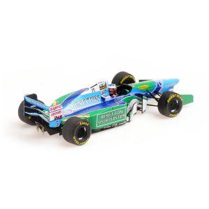 Michael Schumacher Benetton B194 #5 Vainqueur du GP de France Champion du monde de F1 1994 1/43
