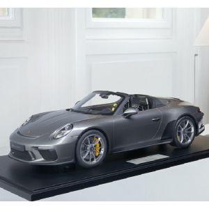 Porsche 911 (991.2) Speedster - 2019 - Agate grise 1/8