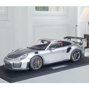Porsche 911 (991.2) GT2 RS - 2018 - plata metálica 1/8
