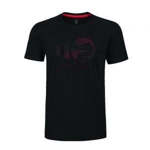 Alfa Romeo Lifestyle 110 Camiseta Concentric negra