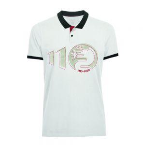 Alfa Romeo Lifestyle 110 Polo Shirt Anniversary white