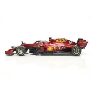 Charles Leclerc Ferrari SF1000 #16 1000e GP Ferrari GP Toscane F1 2020 1/18
