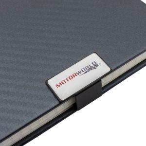 Motorworld Cuaderno de notas Carbono