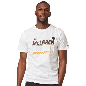 McLaren Gulf Camiseta gráfica blanco