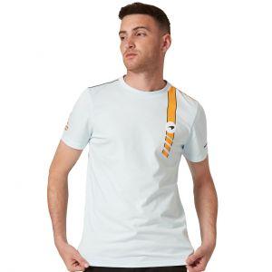 McLaren Gulf T-Shirt Racing Stripe blau