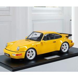 Porsche 911 (964) Turbo 3.6 - 1994 - Vitesse jaune 1/8