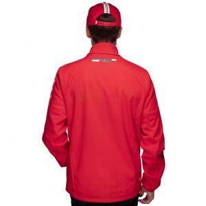 Scuderia Ferrari Team Veste softshell rouge