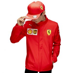 Scuderia Ferrari Team Chaqueta Softshell  rojo