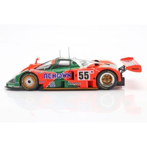 Mazda 787B #55 Vainqueur 24h LeMans 1991 Weidler, Herbert, Gachot 1/18