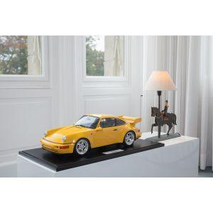 Porsche 911 (964) Carrera RS 3.8 - 1994 - Vitesse jaune 1/8