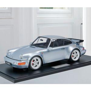 Porsche 911 (964) Turbo 3.6 - 1994 - Argent polaire métallisé 1/8