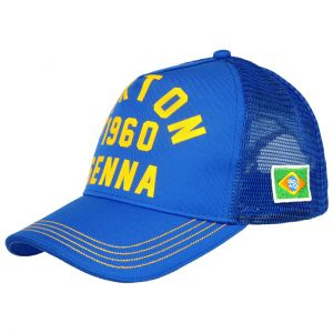 Ayrton Senna Cap 1960 Blue 1
