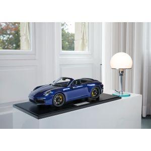 Porsche 911 (992) Carrera 4S Cabriolet - 2020 - Bleu Gentiane Métallisé 1/8
