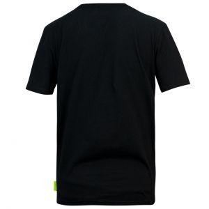 Aston Martin F1 Official Lifestyle Logo Camiseta negro