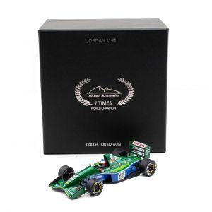 Michael Schumacher Jordan J191 Erstes GP-Rennen 1991 1:43