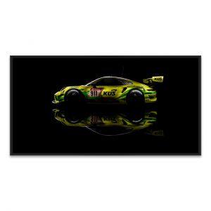 Manthey Art Print - Porsche 911 GT3 R Grello 24h Voiture Gagnante 2021 Side