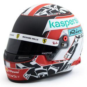 Charles Leclerc casco in miniatura Formula 1 2021 1/2