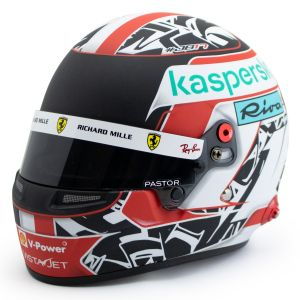 Charles Leclerc Miniaturhelm Formel 1 2021 1:2