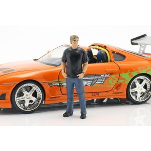 Fast & Furious Brian`s Toyota Supra 1995 orange 1/24