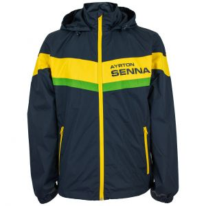 Ayrton Senna Windbreaker Jacket Racing