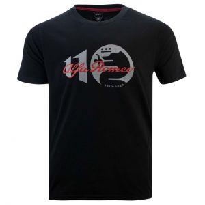 Alfa Romeo Lifestyle 110 T-Shirt Klassik schwarz