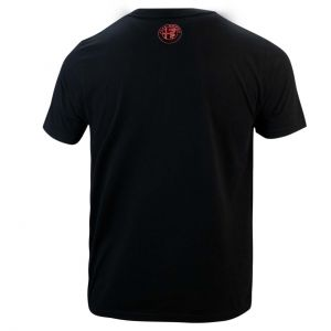 Alfa Romeo Lifestyle 110 T-shirt Classique noir