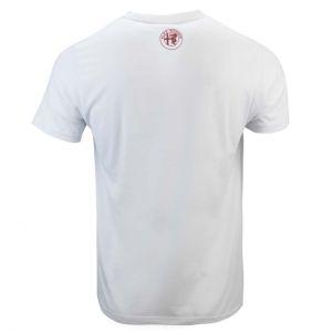 Alfa Romeo Lifestyle 110 Camiseta Aniversario Carrera blanca