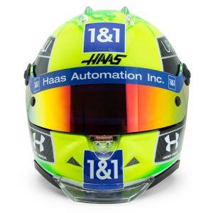 Mick Schumacher casco in miniatura 2021 1/2
