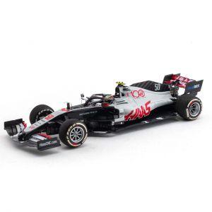 Mick Schumacher Haas F1 Team Test Drive Abu Dhabi 2020 1/43