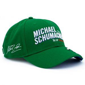 Michael Schumacher Cappello Prima Gara del GP 1991