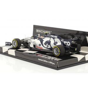 Alpha Tauri AT01 - Pierre Gasly #10 - Vainqueur Italie GP Formule 1 2020 1:43 Minichamps