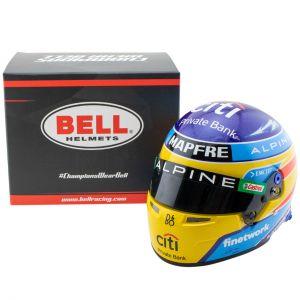 Fernando Alonso Miniaturhelm Formel 1 2021 1:2