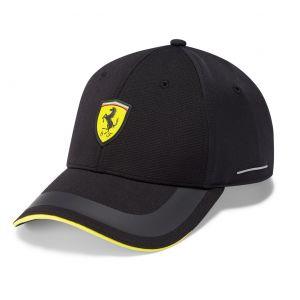 Scuderia Ferrari Cappello Tech nero