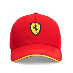 Scuderia Ferrari Cap Tech rot