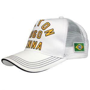 Ayrton Senna Cap 1960 white