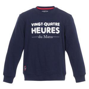 24h Race Le Mans Sweatshirt Bouclette