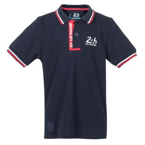 24h-Rennen Le Mans Poloshirt Logo
