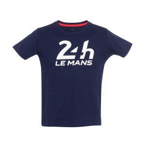 24h-Rennen Le Mans Kinder T-Shirt Logo