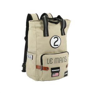 24h Race Le Mans Backpack Legend beige
