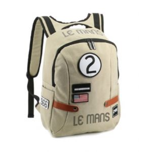 24h Race Le Mans Backpack Classic beige