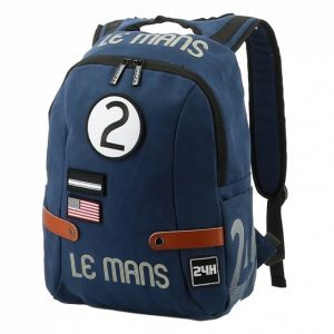 24h-Rennen Le Mans Rucksack Classic blau