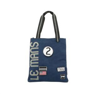 24h Race Le Mans Shopping Bag blue