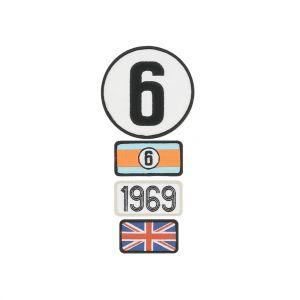 24h-Rennen Le Mans Aufnäher Legends 1969
